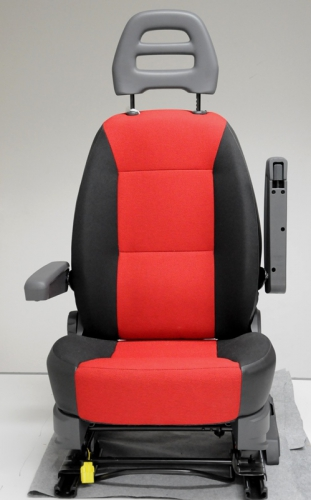 Fiat Leitrahmenkopfstütze Rot