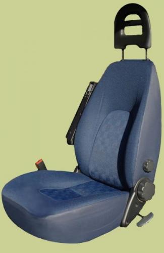 Fiat Leitrahmenkopfstütze Blau